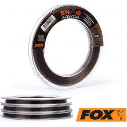 Fox snag leader line 40lb camo 100m